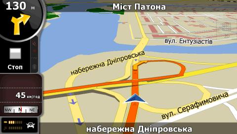 Карты Igo Украина